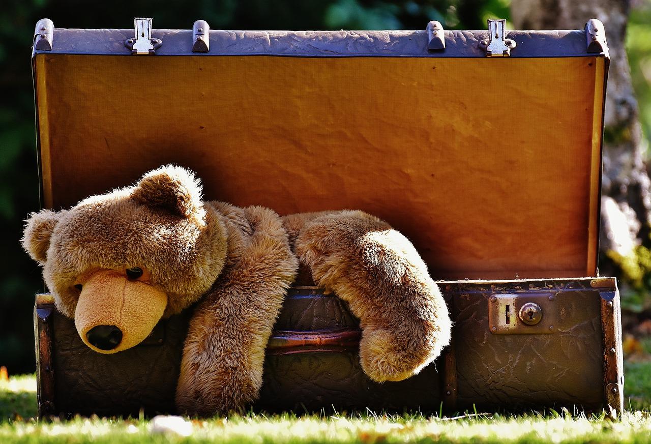 Kufer na zabawki