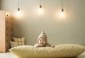 Lampki w pokoju