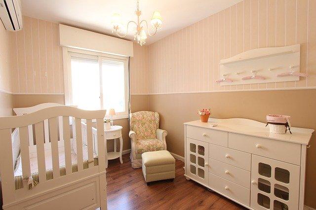 4 nowoczesne pomysły na pokój dla niemowlaka