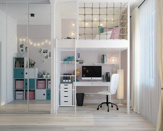 Co usprawnić w pokoju dziecka, gdy za długo przebywacie w domu i nie możecie wychodzić?